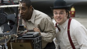 Be Kind Rewind movie image Jack Black and Mos Def