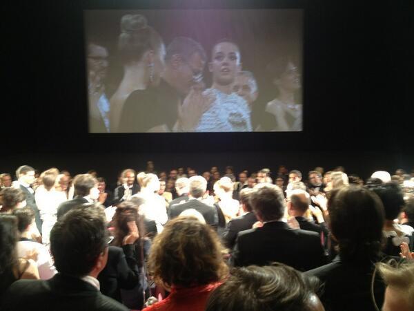 Palme d'or 2013 pour Abdelatif Kechiche, Lea Seydoux et Adèle exarchopoulos