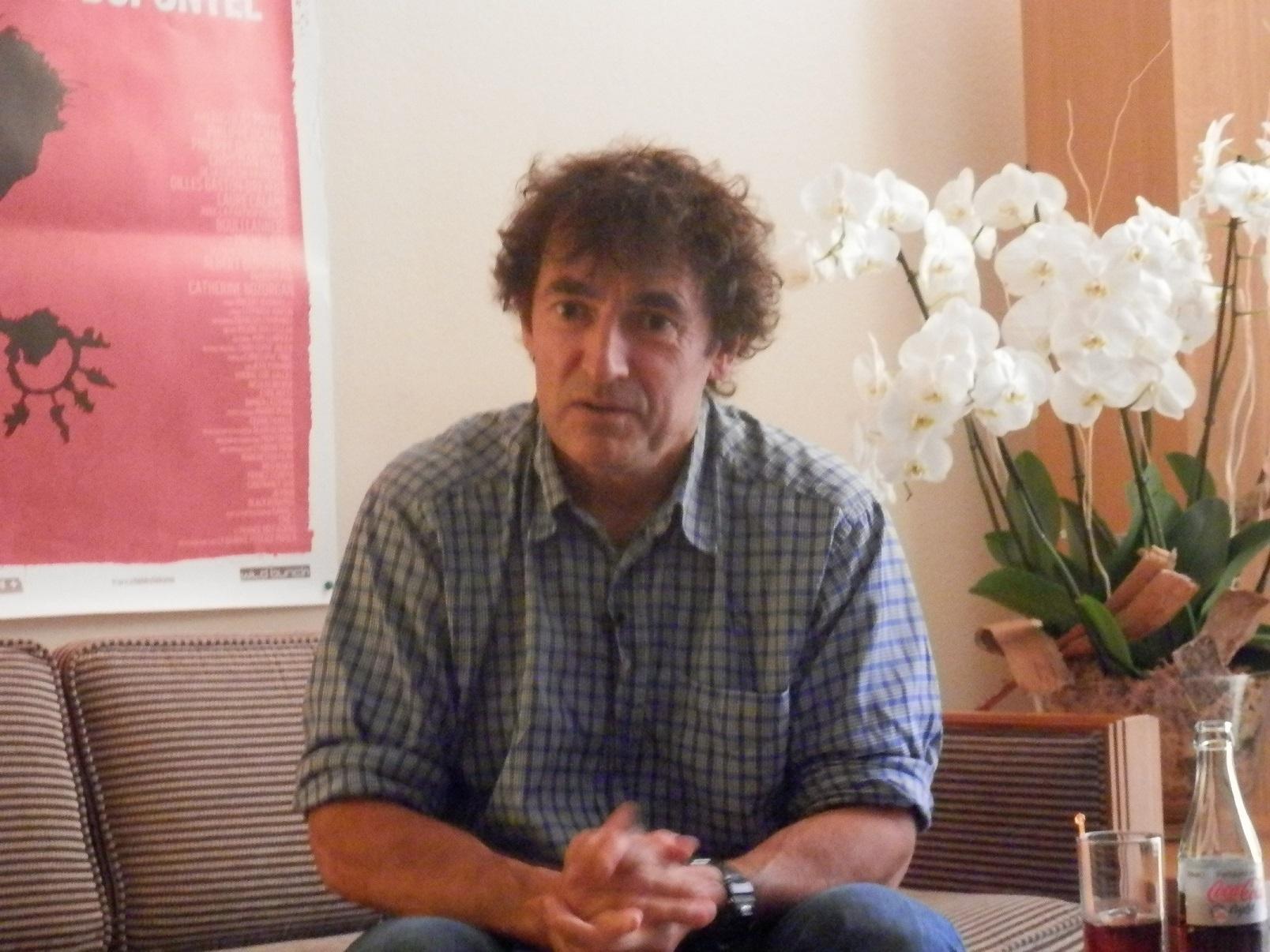 Rencontre avec Albert Dupontel pour «9 mois ferme»