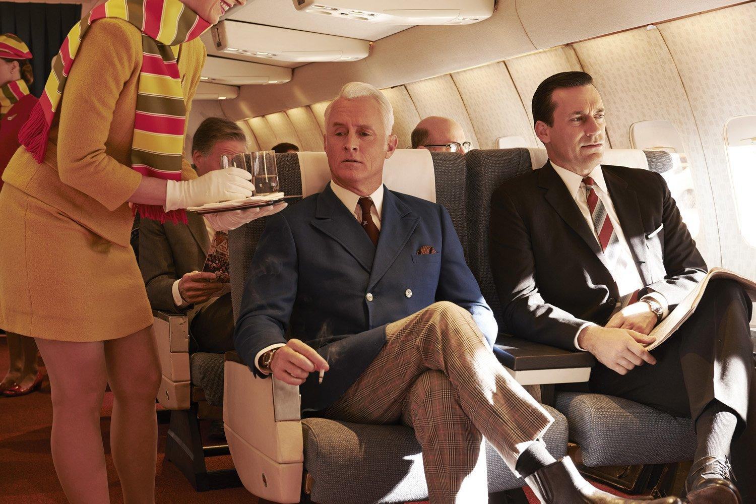Mad Men / saison 7, 1ere partie : hippies, whisky et déception