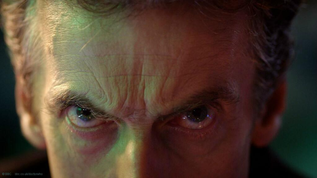 Peter Capaldi's Eyes
