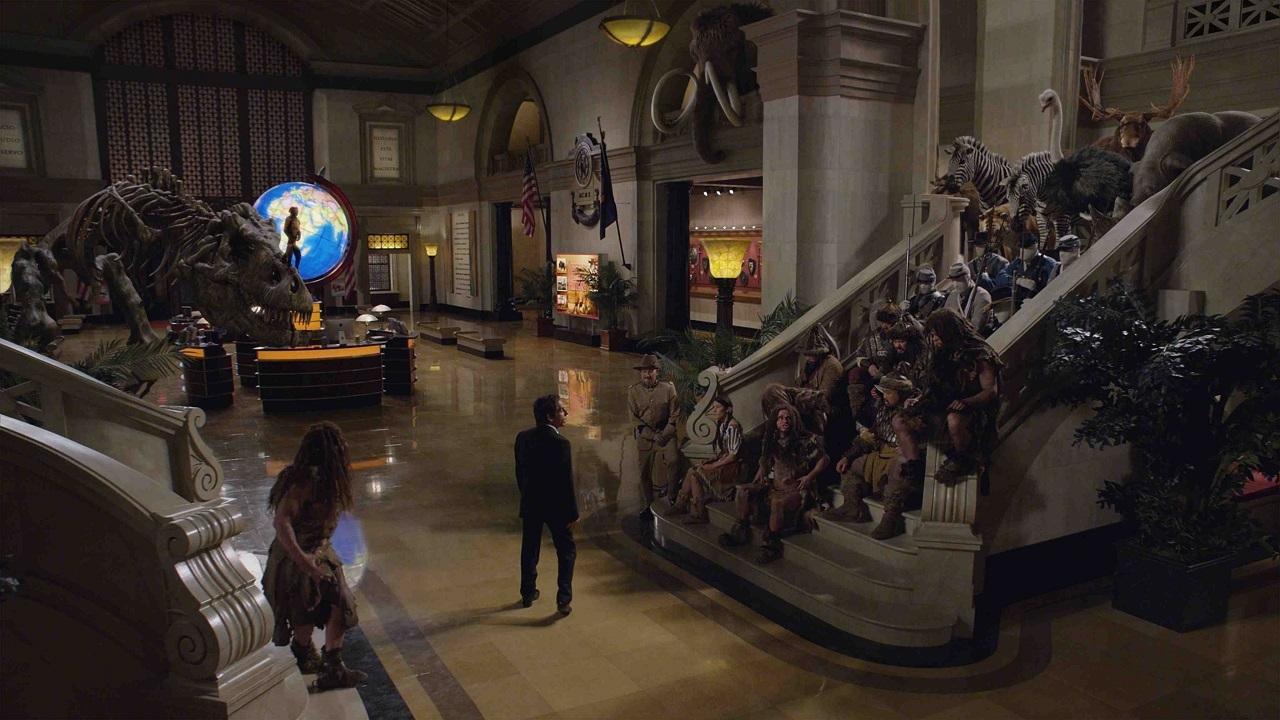 La Nuit au Musée : Le Secret des Pharaons  – Mort du rire