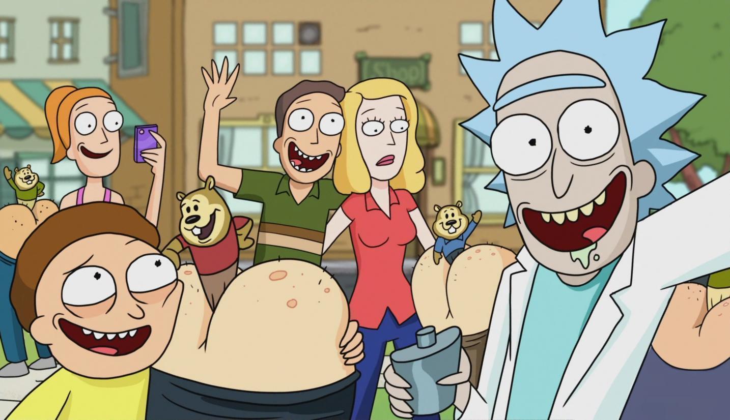 Le supercut dégueulasse de tous les rots de Rick and Morty