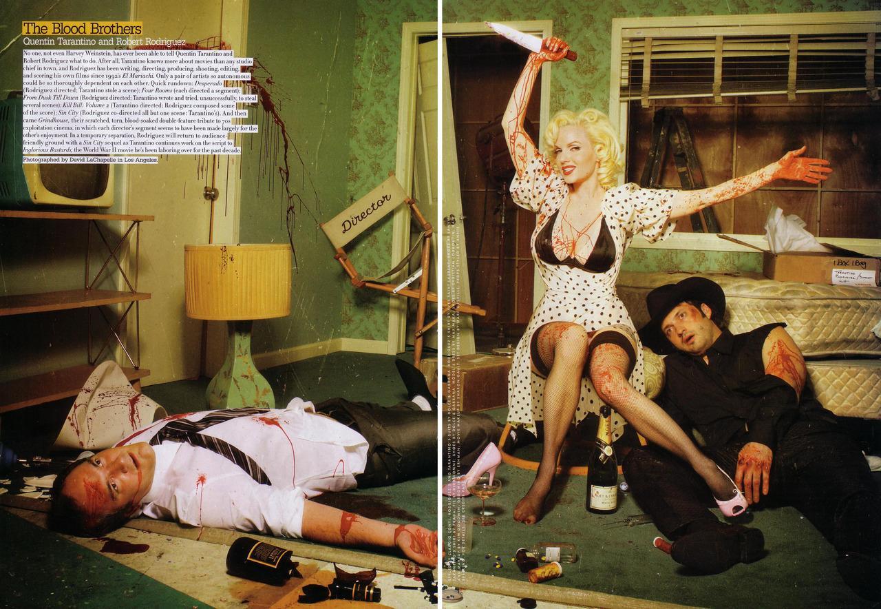 Quand Tarantino lisait la scène d'ouverture de Kill Bill à Robert Rodriguez en 1994