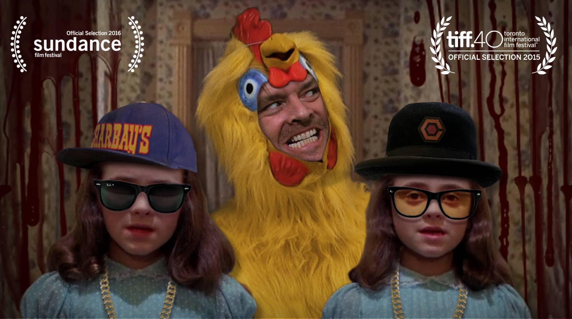 The Chickening : caca et poulet sur la tête à Kubrick