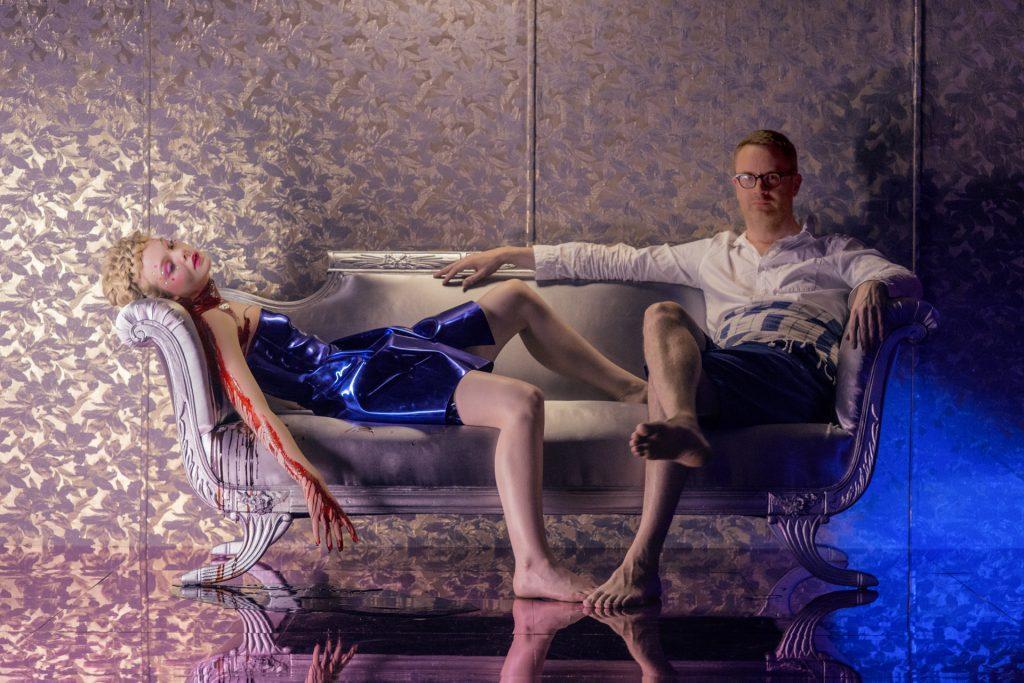 Pépouze avec mon actrice principale à attendre ma sélection à Cannes