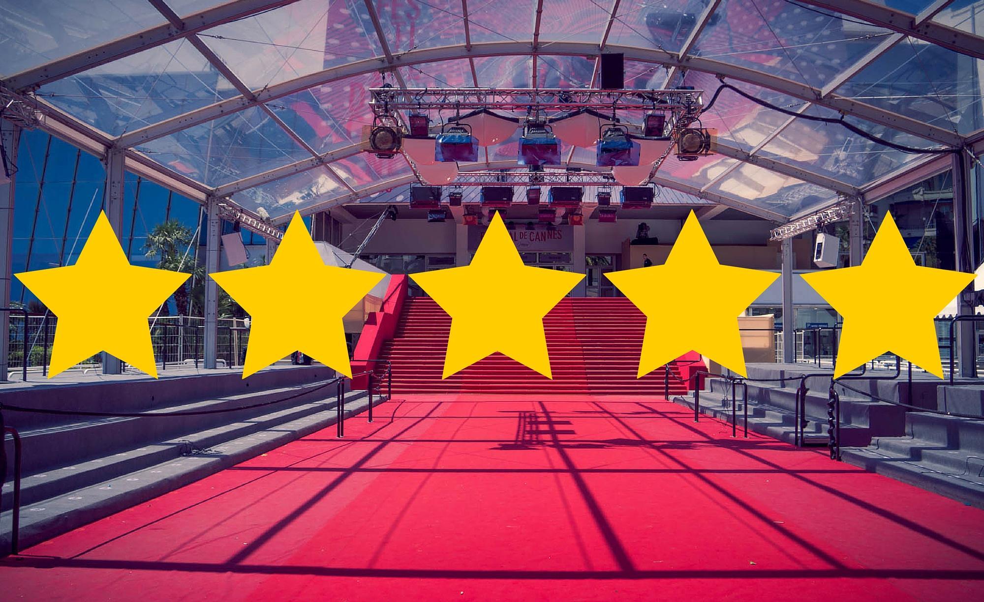 Cannes 2016 – Tableau des étoiles de la Sélection Officielle