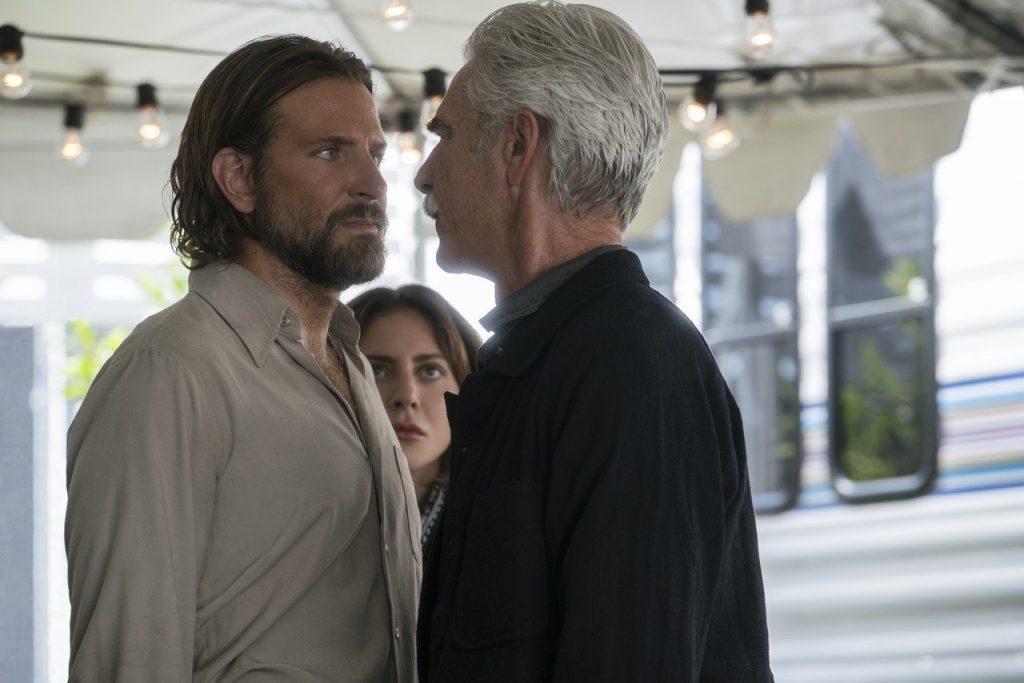 Bradley Cooper et Lady Gaga se font critiquer par Cinématraque pour A Star is Born, avec Sam Elliot