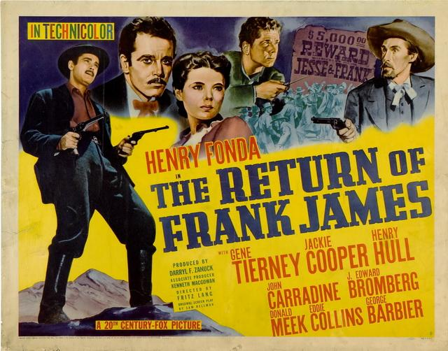 Le Retour de Frank James