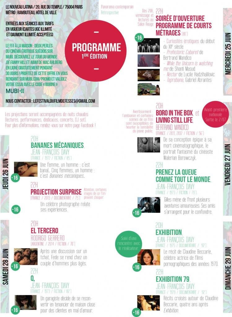 festival du film de fesses