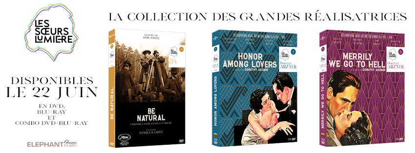 Elephant Films lance la collection Les Sœurs Lumières