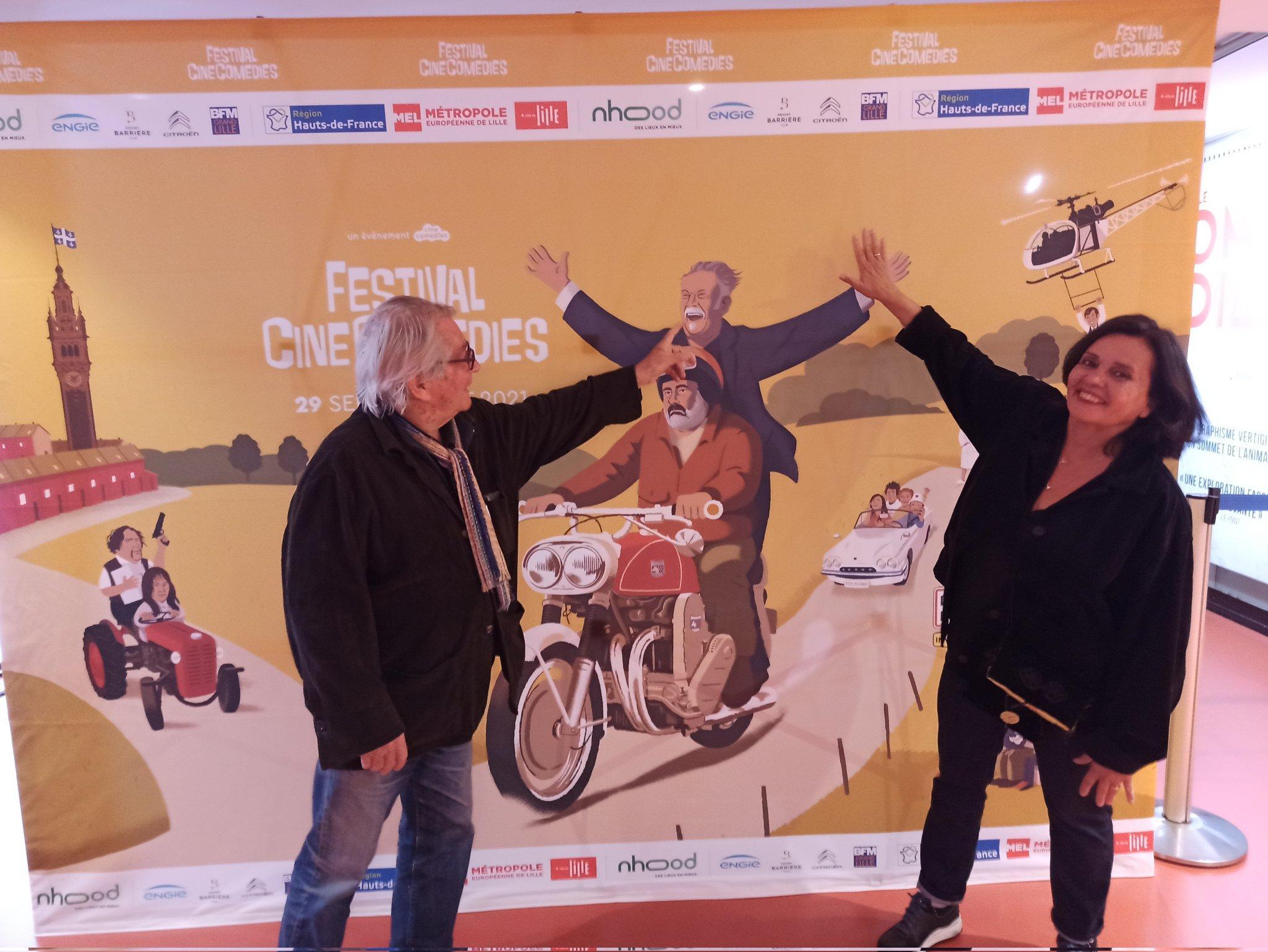 Rencontre avec Joël Séria et Jeanne Goupil: «Les Galettes de Pont-Aven sont nées grâce à Jean-Paul Belmondo»